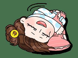Yuko the Schoolgirl sticker #8030