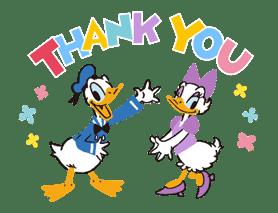 Donald&Daisy sticker #8206