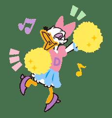 Donald&Daisy sticker #8219