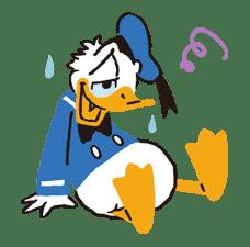Donald&Daisy sticker #8230