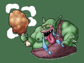 Dragon Quest Monster Stickers sticker #8416