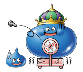 Dragon Quest Monster Stickers sticker #8427