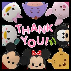 Disney Tsum Tsum Pop-Up Stickers