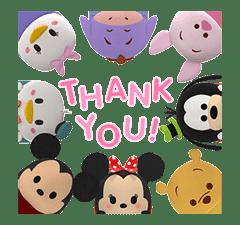Disney Tsum Tsum Pop-Up Stickers sticker #13480865