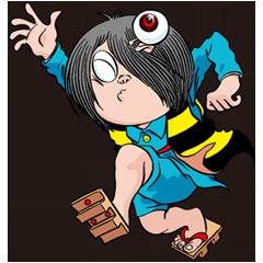 สติ๊กเกอร์ไลน์ GeGeGe no Kitaro