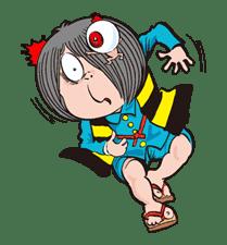 GeGeGe no Kitaro sticker #8991