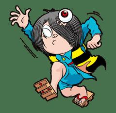GeGeGe no Kitaro sticker #9007