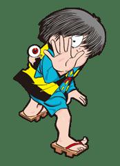 GeGeGe no Kitaro sticker #9011