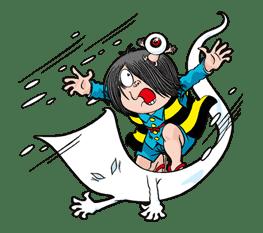 GeGeGe no Kitaro sticker #9024