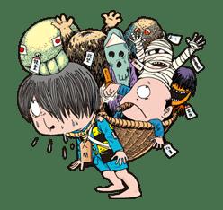 GeGeGe no Kitaro sticker #9025
