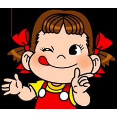 สติ๊กเกอร์ไลน์ Peko-chan