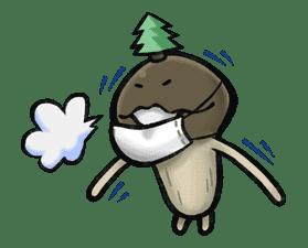 """Mushroom Garden """"Coming of Spring"""" sticker #9188"""