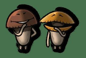 """Mushroom Garden """"Coming of Spring"""" sticker #9203"""