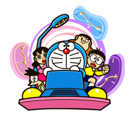 Doraemon's Secret Gadgets sticker #9708