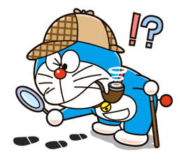 Doraemon's Secret Gadgets sticker #9712