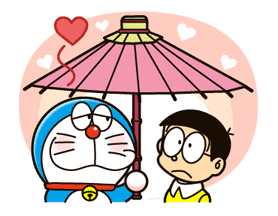Doraemon's Secret Gadgets sticker #9713