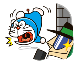Doraemon's Secret Gadgets sticker #9714