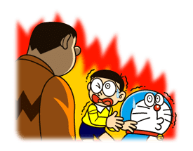 Doraemon's Secret Gadgets sticker #9723