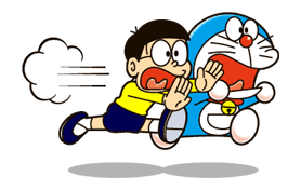 Doraemon's Secret Gadgets sticker #9725