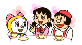 Doraemon's Secret Gadgets sticker #9741