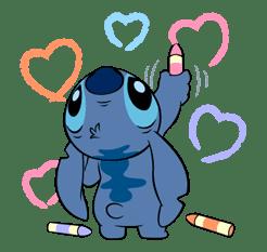 Stitch sticker #14351