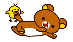 Rilakkuma Summer sticker #15282