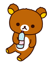 Rilakkuma Summer sticker #15283
