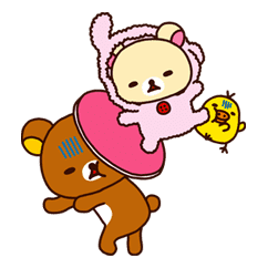 Rilakkuma Summer sticker #15284