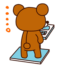 Rilakkuma Summer sticker #15287