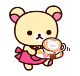 Rilakkuma Summer sticker #15292