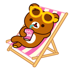 Rilakkuma Summer sticker #15298