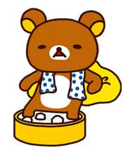 Rilakkuma Summer sticker #15307