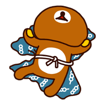 Rilakkuma Summer sticker #15310