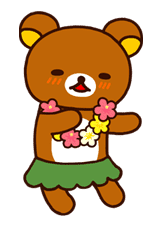 Rilakkuma Summer sticker #15315