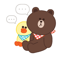 LINE Characters: Pastel Cuties sticker #695119