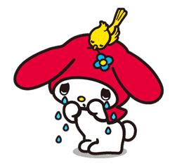 My Melody sticker #5716