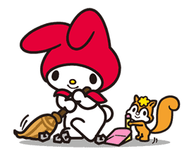 My Melody sticker #5723