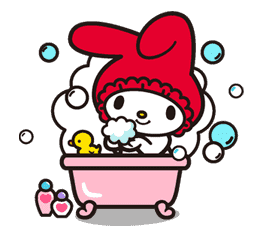 My Melody sticker #5726