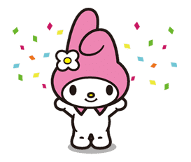My Melody sticker #5731