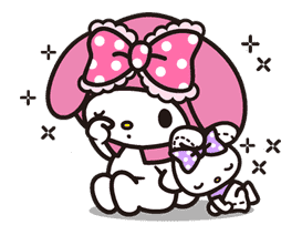 My Melody sticker #5735