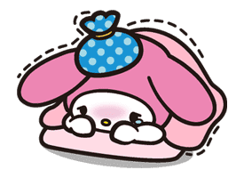 My Melody sticker #5740