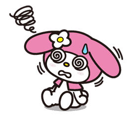 My Melody sticker #5749