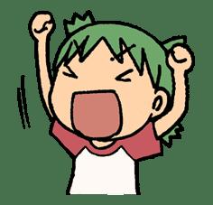 Yotsuba & ! sticker #5791
