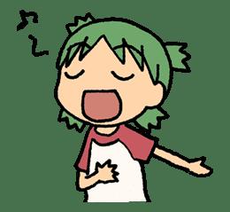 Yotsuba & ! sticker #5801