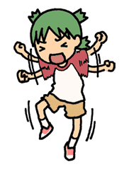 Yotsuba & ! sticker #5809