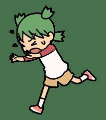Yotsuba & ! sticker #5810