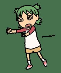 Yotsuba & ! sticker #5812