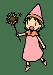 Yotsuba & ! sticker #5824