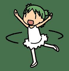 Yotsuba & ! sticker #5826