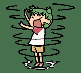 Yotsuba & ! sticker #5828